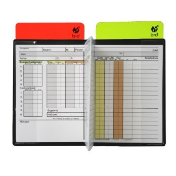 Schiedsrichter Pocket - Set im FIFA Maß